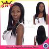 Top Quality Fashion 100% Human Hair natural girls hair wig silky straight u part wig