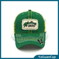 applique embroidery mesh baseball cap trucker mesh cap