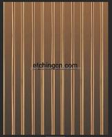 corrugated metal decorative metal pieces decorative metal banding