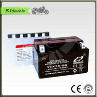 Hot sale DRY CHARGED GEL ELECTRIC MOTOR BATTERY YTX7A-BS(12V 7AH)