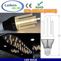 New products 2015 special design art bulbs smd2835 5Watt dimmable E27 led bulb light with light guide plate CE&ROHS