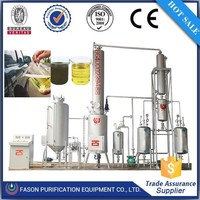 Used oil recycling plant to produce diesel &base oil