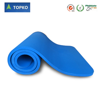 Wholesale OEM Accept Non Slip Eco Friendly Exercise NBR Yoga Mat