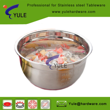 free samples non-skid stainless steel cooking bowls for mixing