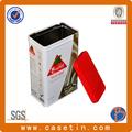 Hojalata de estaño fabricante de latas/vacía de la lata de hojalata y latas