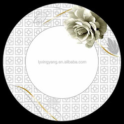 porcelain flat plate, round soup plate, cheap soup plate for pakistan