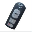 Best price 3+1 button cover car key for silicone car key cover for mazda mazda smart key