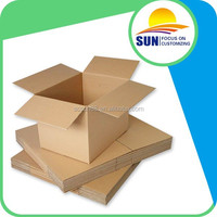 Custom Print Packaging Corrugated Carton Box Die Cut Corrugated Box