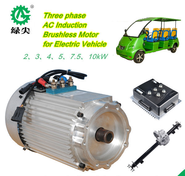 3kw 48v ac engines for electric cars/electric buses, electric golf carts