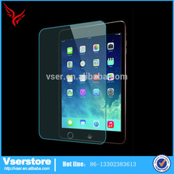 Transparent mobile accessories for iPad Air 9H tempered glass 0.4mm screen protector