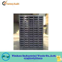 industrial warehouse plastic drawer parts cabinet
