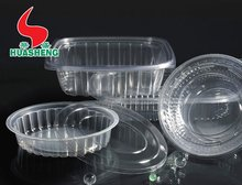 Disposable Plastic Food Packaging Tray and Container