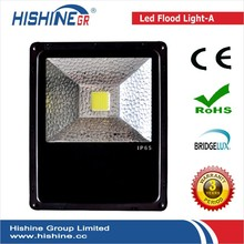 outdoor led heavy duty flood lighting aluminum pillar conduction 100w