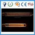 Nuevo 2015 2 vatios regulables led de filamento de tungsteno de la lámpara e27 claro medio tubo directamente de la fábrica de suministro ce/rohs