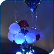 China Manufacture 2015 Light Up Led Sparkle Balloon Ribbon