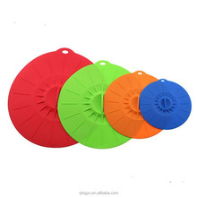 Fits various sizes of cups, bowls, pans, or containers, silicone food covers