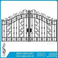 decorative wrought iron for gates grape & leaf style