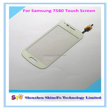 Cell phone spare part for samsung S Duos 2 S7582 S7580 touch screen