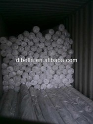 Wuxi hotel stripe bedding fabric with CVC item 250tc in roll