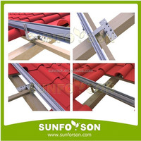 SunRack Solar Panel Mount PV Roof Tile Hooks