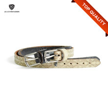 Single Pin Buckle Genuine Leather Embossed Pet Cat & Dog Neck Belt