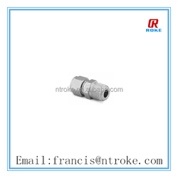 Alloy 20 swagelok similar male connector BSP tapered thread