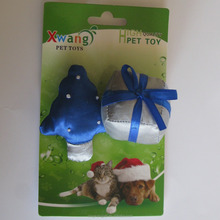 christmas cat toy ,christmas tree gift