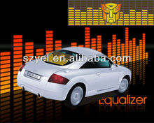 Innovated Newly animation equalizer car audio