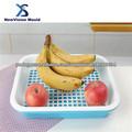 molde bandeja de frutas de plástico
