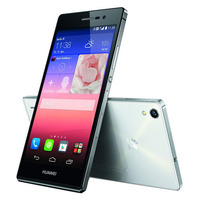 Hot Ultra Slim 6.5mm Android 4.4 Cell Phone 5.0 inch Quad Core Huawei P7 4G FDD LTE top-1 mobile phone with english box