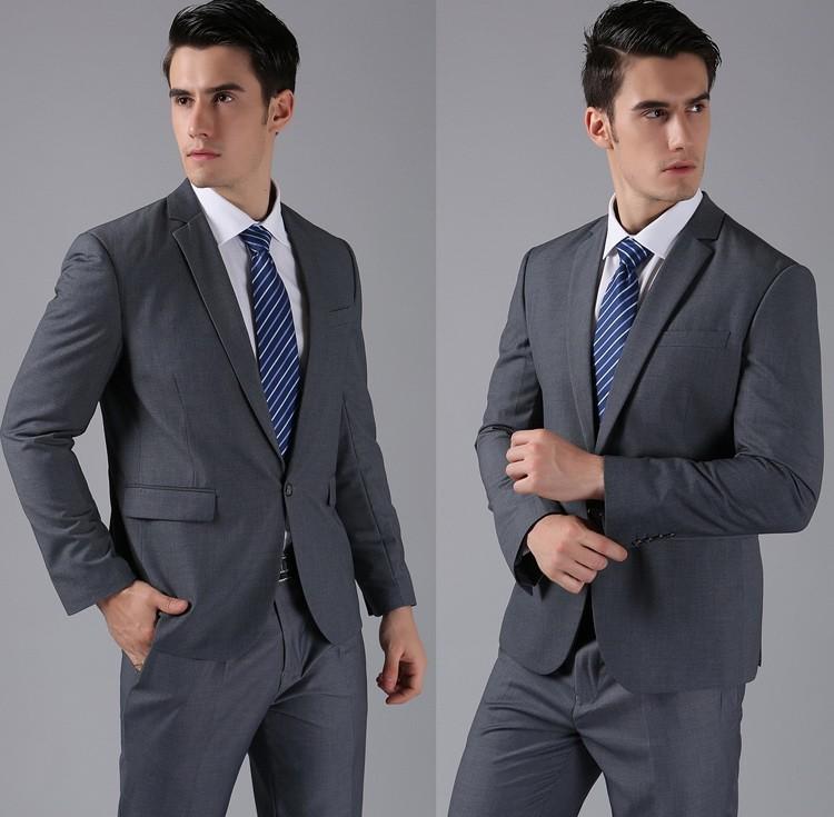 HTB1NUdnFVXXXXcBXXXXq6xXFXXXj - (Jackets+Pants) 2016 New Men Suits Slim Custom Fit Tuxedo Brand Fashion Bridegroon Business Dress Wedding Suits Blazer H0285