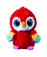 Custom Red plush Macaw bird toy stuffed cute kids plush toys parrot birds wholesale