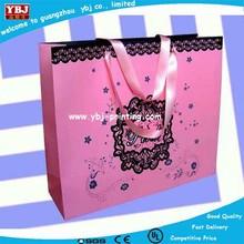 Custom Wholesale Fancy Cheap Laminated Shopping Paper Bag