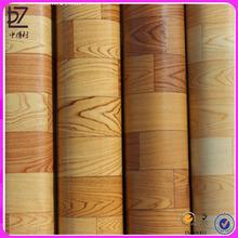 cheap wooden floor tiles prices/ pvc flooring tile like wood