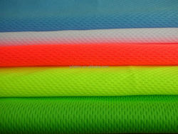 100 polyester coolpass quick dry knit fabric in birdseye style