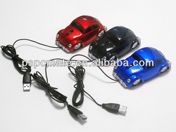 3d custom car shaped mouse