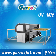 Garros UV flatbed well operated printing machine with eco solvent ink
