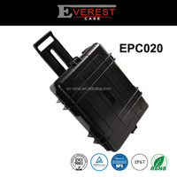 Watertight Hard Rugged Protective Case for Electronics, Equipment, Cameras, Tools, Drones, and More