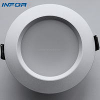 recessed cut hole led down light accurate beam spot and lighting effect color index more over 80%