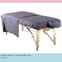 luxury massage sheet set