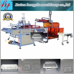2015 CE automatic plastic thermoforming machine /plastic tray, container forming machine