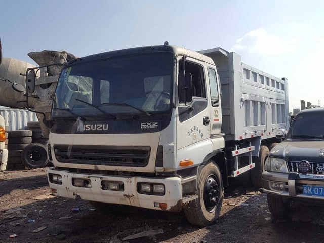 More Details About Used ISUZU DUMP TRUCK: