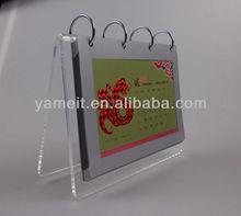 Customer logo Promotional Acrylic Blank Calendar 2014