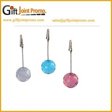 Promotional Cheap Gobal Ball Memo Clip