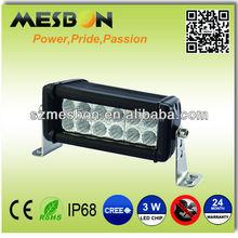 100% Optically Clear led pick up light bar lexan