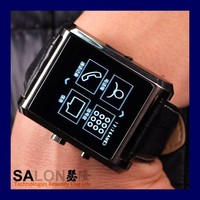 2015 New bluetooth watch with caller id bluetooth watch cheap touch screen watch mobile phone