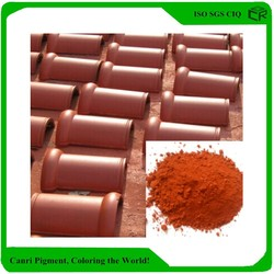 Iron Oxide Red china supplier powder pigment for roofing tile