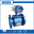 Medidor digital de caudal de agua de salida de 4-20 mA con la comunicación RS485 Hecho en china