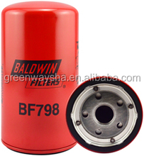 Baldwin Fuel Spin-on Filter BF798 for Kobelco 2451U-2112; Mitsubishi ME056280