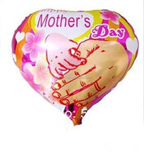 festival decoration happy mother day foil balloon